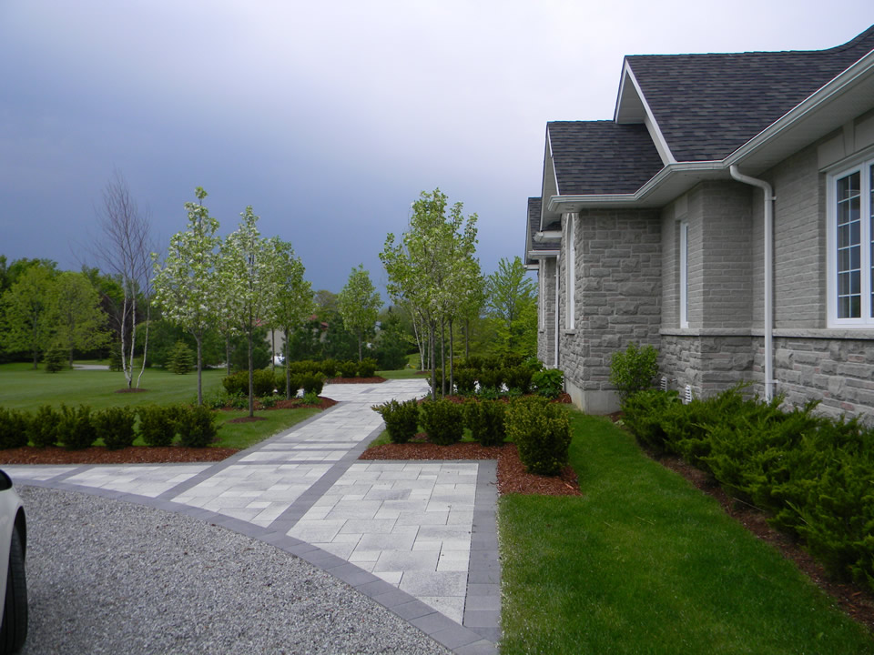 Landscaping With Pear Trees : Cavan hills landscaping gardens decks and pools